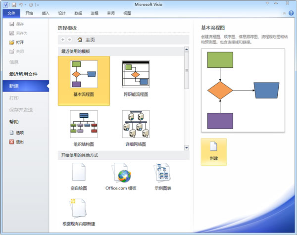 Microsoft Office Visio 2010 VOL 专业版